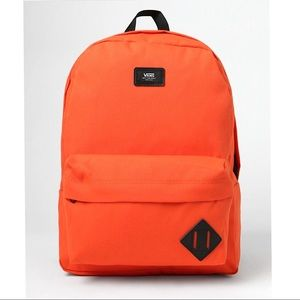 Vans Old Skool II Orange Backpack